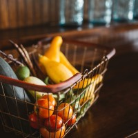 Veggies in Basket